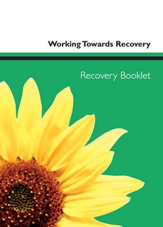 Personal stories of Recovery from Hertfordshire