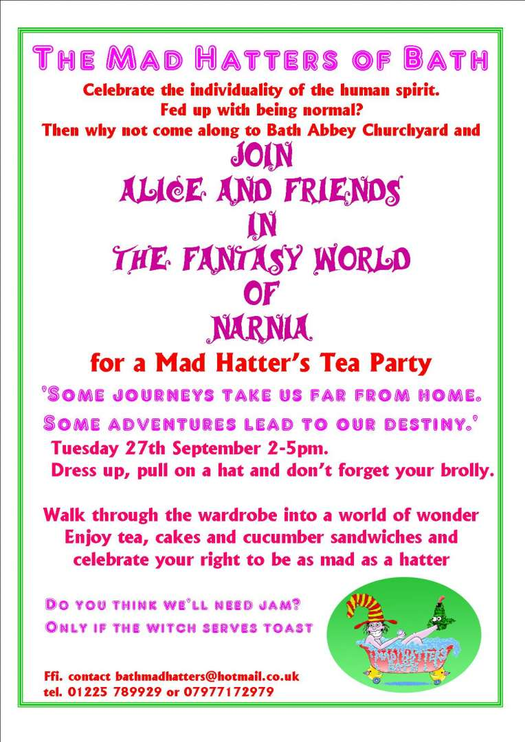 Bath Mad Hatters Tea Party 2011 - Recovery Devon