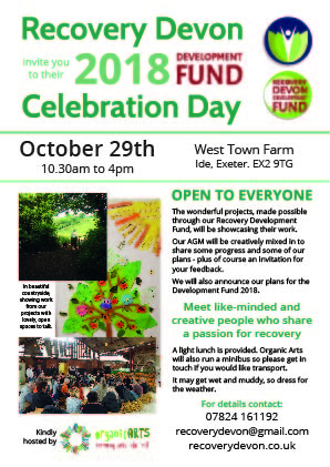 Development Fund Celebration and AGM – Oct 29th 2018