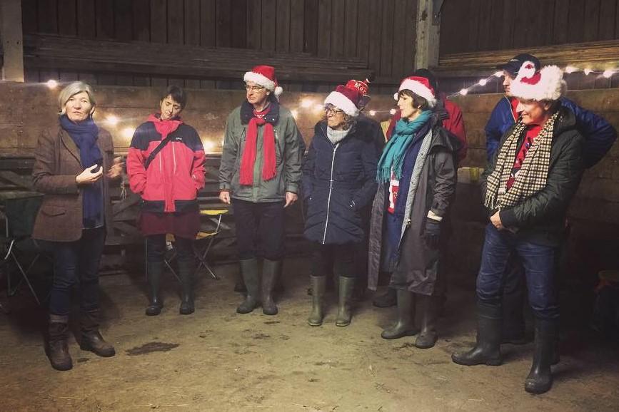 Horsemanship for Health give festive cheer