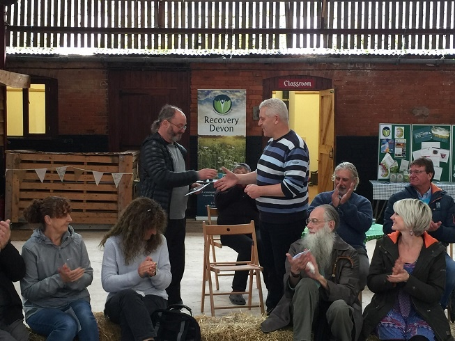 A whole lot of goodwill; Recovery Devon Celebration Day 2019