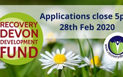 Recovery Devon's 2020 Development Fund is open!